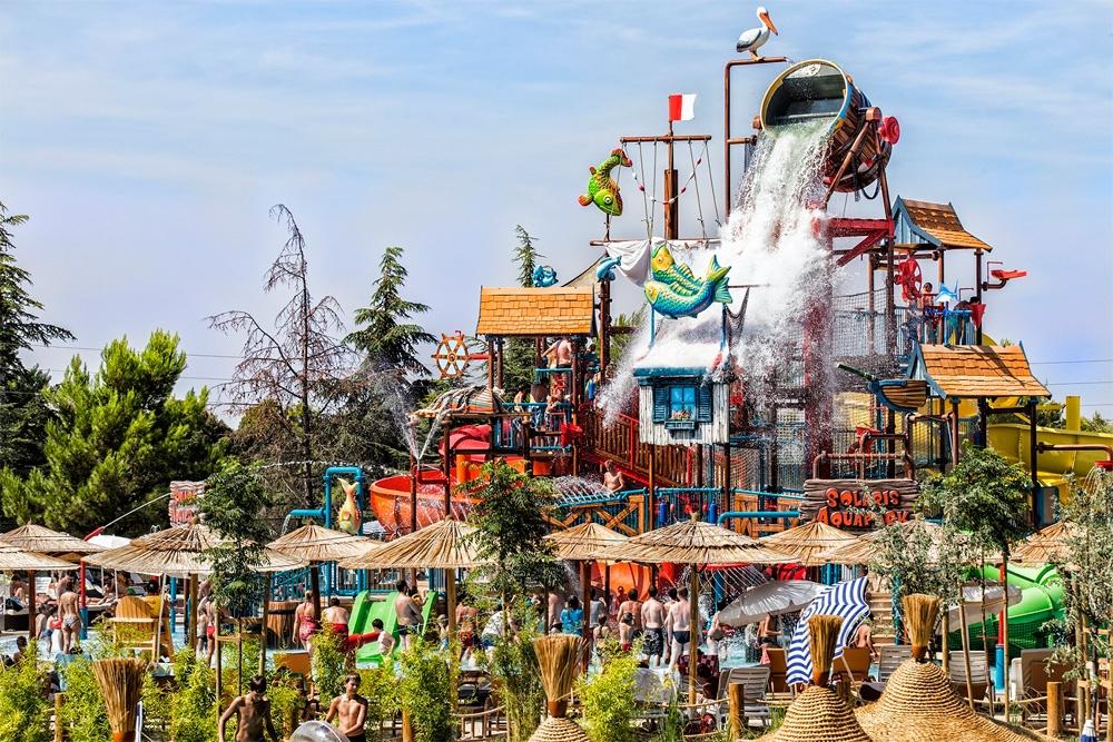 Hotel SOLARIS BEACH HOTEL NIKO 3* aquapark